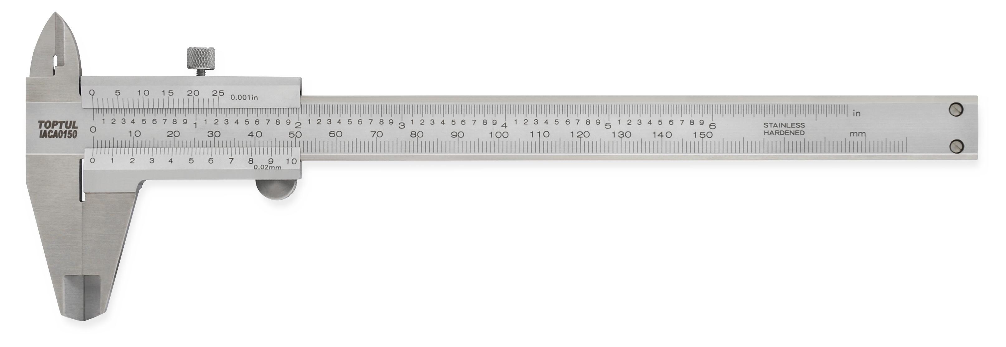 ΠΑΧΥΜΕΤΡΟ  (0-150mm) Graduations: 0.02 mm / 0.001 inch