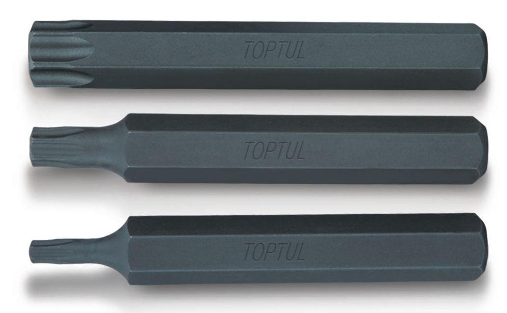 Μύτες μακριές allen - torx - πολύσφηνες 10 mm